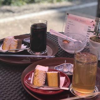 ケーキセット(カフェ井政 (カフェイマサ))