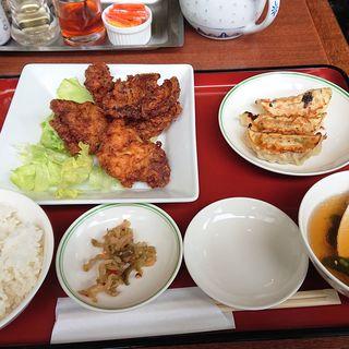 若鶏の唐揚げ定食(双喜亭 川崎西口店)