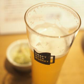 志賀高原ビール(IPA) インディアンサマーセゾン(クラフトビアマーケット ルクア大阪店)