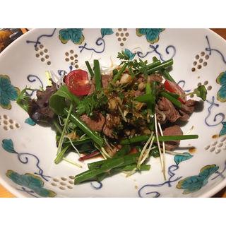 牛しゃぶサラダ(たけつら 四季素材 )