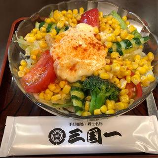 サラダうどん(三国一 西口店 (さんごくいち))
