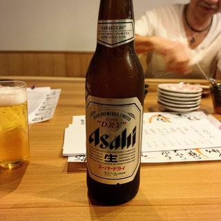 瓶ビール(小瓶)(くずし割烹おにかい)
