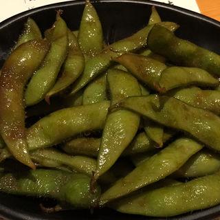 枝豆のバター醤油炒め(ぎんなべ )