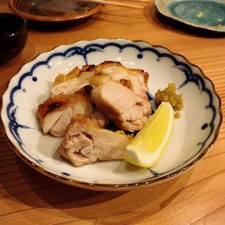 大山鶏塩焼き(くずし割烹おにかい)