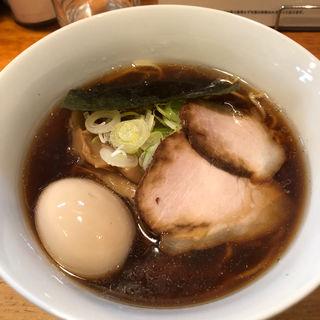 煮卵醤油中華そば(中華そば 閃 )