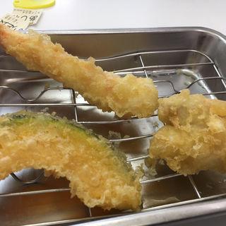 あじわい定食(えびと鶏ももとかぼちゃ)(天ぷらのひらお 早良店 )