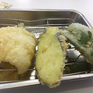 あじわい定食(ナスとピーマンとイカ)