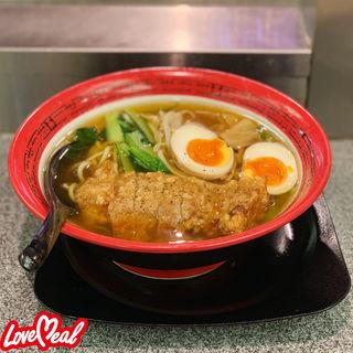 排骨拉麺(万世拉麺 有楽町店 (まんせいらーめん))