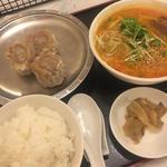 シウマイ+ハーフ坦々麺セット