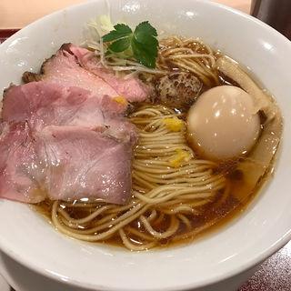 中華そば(麦と麺助 新梅田中津店)