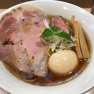 紀州鴨そば(燃えよ麺助)