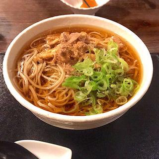 肉そば(そば処紅山水 )