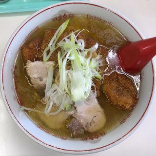 トンカツ塩ラーメン(龍宝)