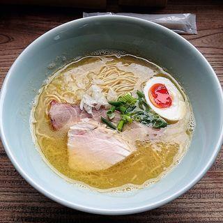 鶏白湯魚介らーめん(ひとはな亭)