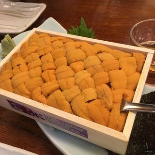 箱ウニ(和食処 一隆 (わしょくどころいちりゅう))