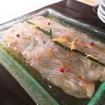 天然魚のカルパッチョ(俺のフレンチ・イタリアン AKASAKA )