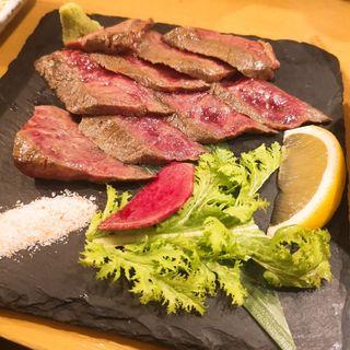 葉山牛のたたき(ヤマヤ鮮魚店)