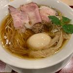 味玉中華そば(麦と麺助 新梅田中津店)