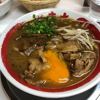 徳島ラーメン 肉入(ラーメン東大 大道本店 (本場徳島の味))
