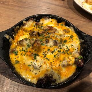 牛スジとポテトのチーズオーブン焼き