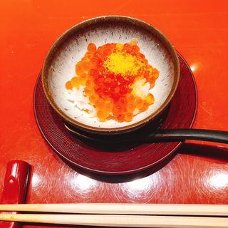 いくらご飯(鮨 銀座 鰤門 (すし ぎんざ しもん))
