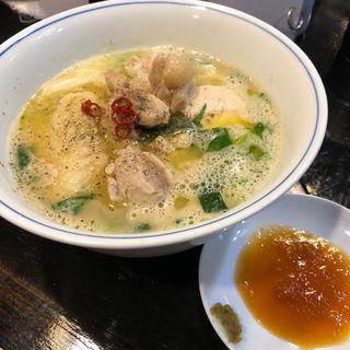 ロックン白湯水炊き風〜鶏そば