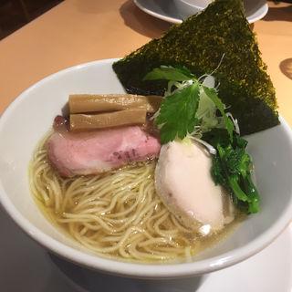 平子と蛤の塩そば(らぁ麺 蒼空)