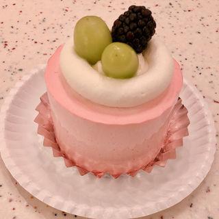 ピンクヴェルヴェット チーズショートケーキ(PARIYA )