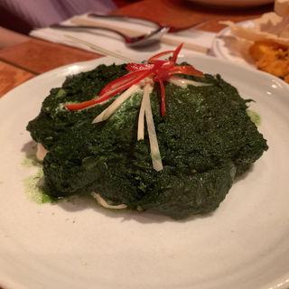 豆腐とほうれん草(クンビラ )