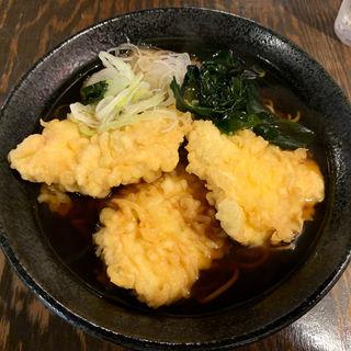 鶏天そば(立呑みパラダイス)