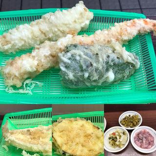 天ぷら定食(だるまの天ぷら定食 吉塚本店 )