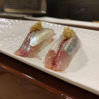 シマアジ(後楽寿司 (こうらくずし))