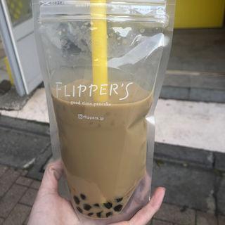 タピオカ豆乳ほうじ茶(FLIPPERS 表参道店)