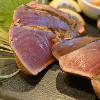 鰹のたたき定食(梅山鉄平食堂 )