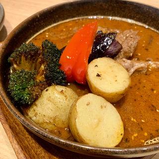 選べる5種のスープカレー(スープカレーガラク 中野店 (GARAKU))