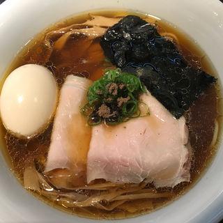 味玉醤油そば(Japanese Soba Noodles 蔦 (ジャパニーズソバヌードル ツタ))
