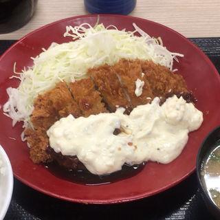 タルタルチキンカツ定食(かつや 愛知瀬戸店 )