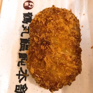 コロッケ(鶴丸饂飩本舗 北浜店)