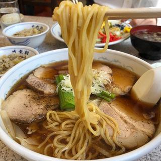 叉焼ワンタン麺(竹葉軒 (チクヨウケン))