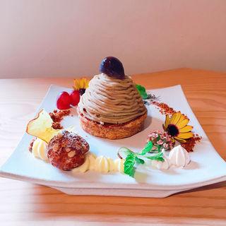 和栗のモンブラン(Gallery & Cafe ENSOU)