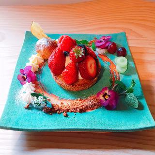 いちごのタルト(Gallery & Cafe ENSOU)