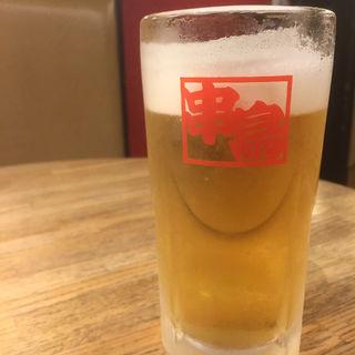 生ビール(串鳥 南二条店)