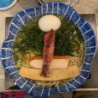 海 魚海香る塩そば(ソバダイニング クワトロ)