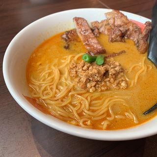 パーコーカレー担々麺(麺屋 虎杖 大門浜松町店)