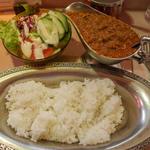 インドカレーとご飯(タンドゥール )