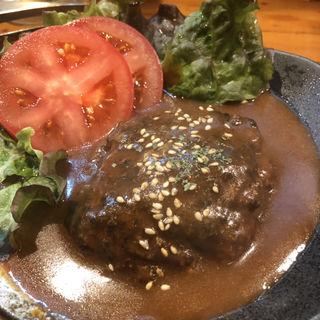 島根牛の煮込みハンバーグ