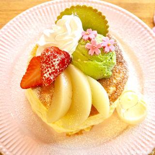 春のパンケーキ(カフェ アリエッティ (Cafe ARRIETTY))