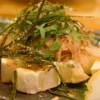 クリームチーズのおかか和え(焼鳥 高宮 本店)