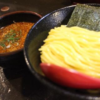 辛い背脂豚骨つけ麺/大(山嵐 黒虎)