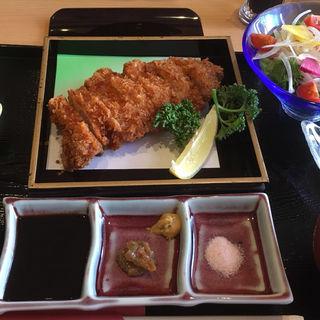 トンカツ定食(八島)